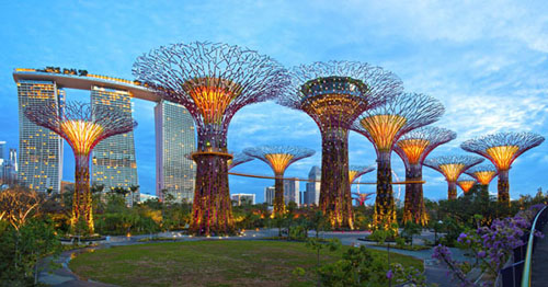Tour Singapore Malaysia - Gardens by the Bay