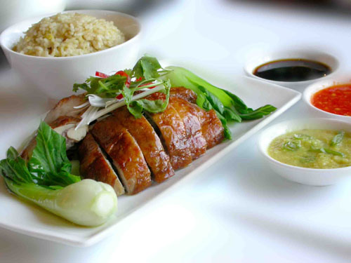 HAINAM CHICKEN RICE