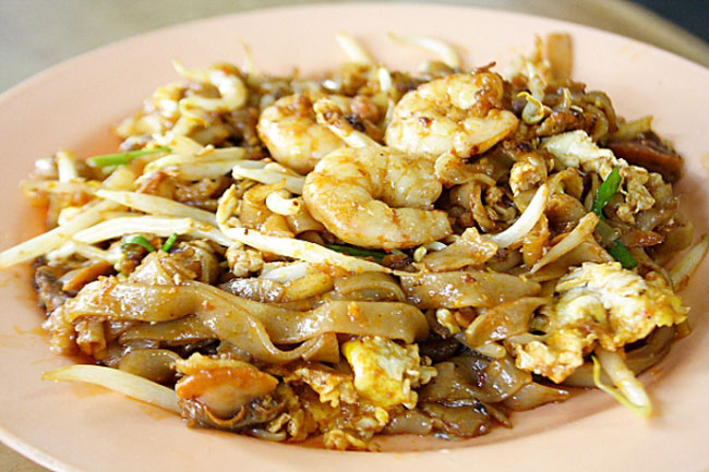 Am Thuc Malaysia Char Kway Teow