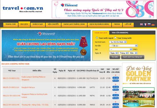 Website Dat Phong Khach San 2