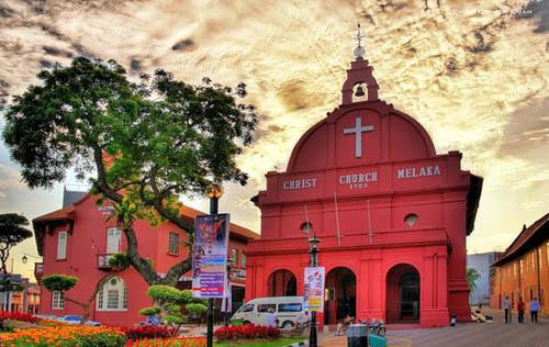 Tour Singapore Malaysia 6n5d Melacca Church