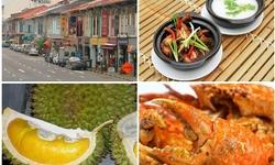 Khu chợ Geylang - nơi tập trung nhiều món ăn đặc sản Singapore