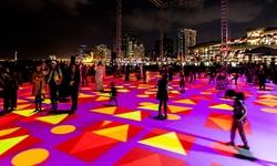 Không khí vui nhộn của lễ hội Singapore Night Festival