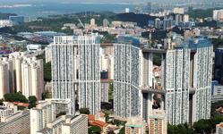 Cùng ngắm cảnh Singapore tại tòa nhà Pinnacle@Duxton