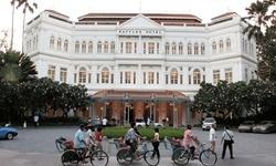 Sự tao nhã và sang trọng của khách sạn Raffles ở Singapore